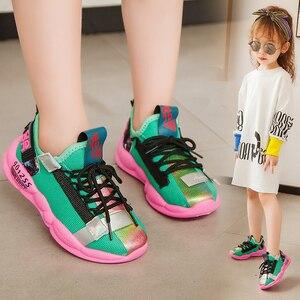 Image 4 - PINSEN 2019 Neue Herbst Turnschuhe Mädchen schuhe Kinder Schuhe Jungen Mode Casual Kinder Schuhe für Mädchen Sport Laufschuhe Kind Schuhe