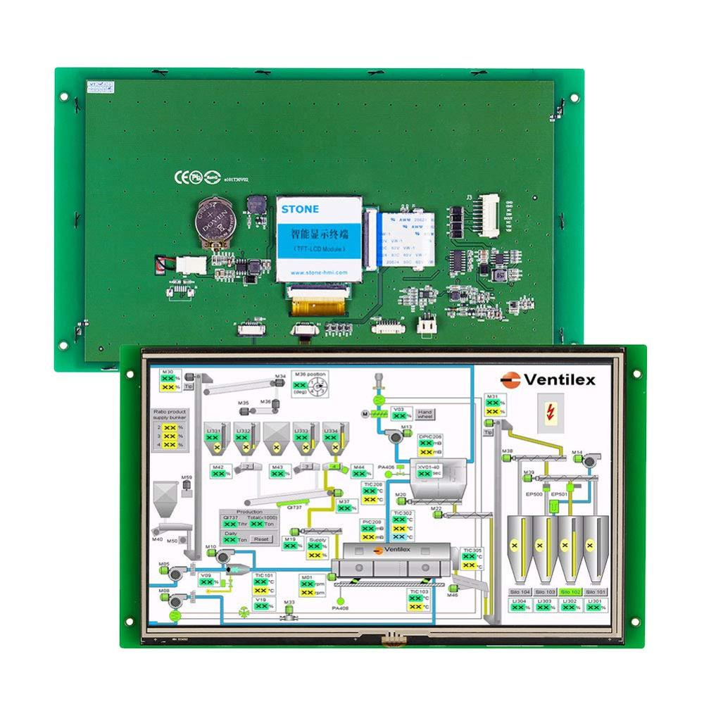 10.1 Intellective LCD TFT Touch Screen Module Popular Industrial Solution With Its Powerful Function And Easy Operation