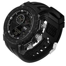 Gshock мужские часы черные спортивные светодиодный цифровой