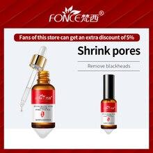 Korean Skin Care Face Shrink Pores Serum Hyaluronic acid Smear Liquid Firming Remove Blackhead acne Treatment 30ml
