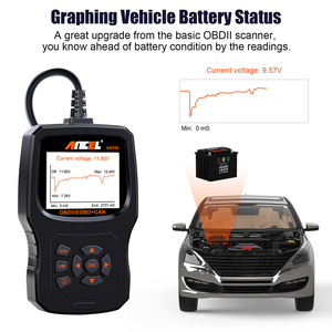 Image 3 - Ancel AD530  OBD2 ODB Automotive Scanner Battery Tester Full OBD2 Car Engine Diagnostic Tool Code Reader  OBD 2 Scan Tool