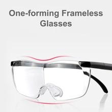 Gafas de lectura para presbicia, Lupa, aumento, Marco para presbicia, con luz cómoda para ancianos, 250 grados