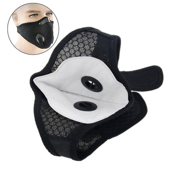 10pcs Activated Carbon Dustproof Mask Filter Face Mask Anti Pollen Allergy PM2.5 Dust Mask Filter