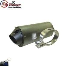 STONEDER 38mm Exhaust Muffler For 125cc 140cc 150cc 160cc Pit Dirt Bike Motorcycle SSR Thumpstar Stomp YCF SDG Gpx DHZ IMR