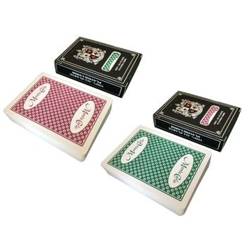 Wodoodporne pcv magiczne pudełko zapakowane w plastikową talia kart do gry Deck Poker klasyczne sztuczki magiczne sztuczki narzędziowe gra w karty Drop Ship tanie i dobre opinie OOTDTY CN (pochodzenie) 14 lat Material 130g Green Purple approx 8 8x6 3cm 3 46x2 48in