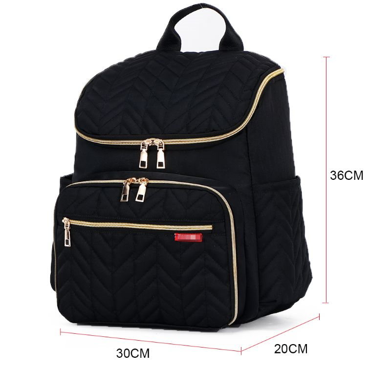 New Multifunction Mummy Diaper Nappy Backpack Newborn Baby Changing Travel Bag