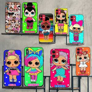 HPCHCJHM LOL DOLL OMG CUTE GIRLS Phone Case Cover for iPhone 11 pro XS MAX 8 7 6 6S Plus X 5S SE XR case(China)