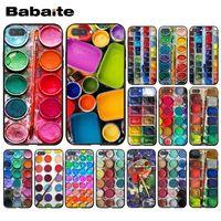 Babaite-Juego de acuarelas para móvil, caja de pintura, funda de teléfono para Huawei Honor 8X 9 10 20 Lite 7A 8A 5A 7C 10i 8C 9X Pro