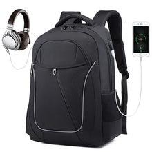 Мужской рюкзак из ткани Оксфорд с usb портом для зарядки