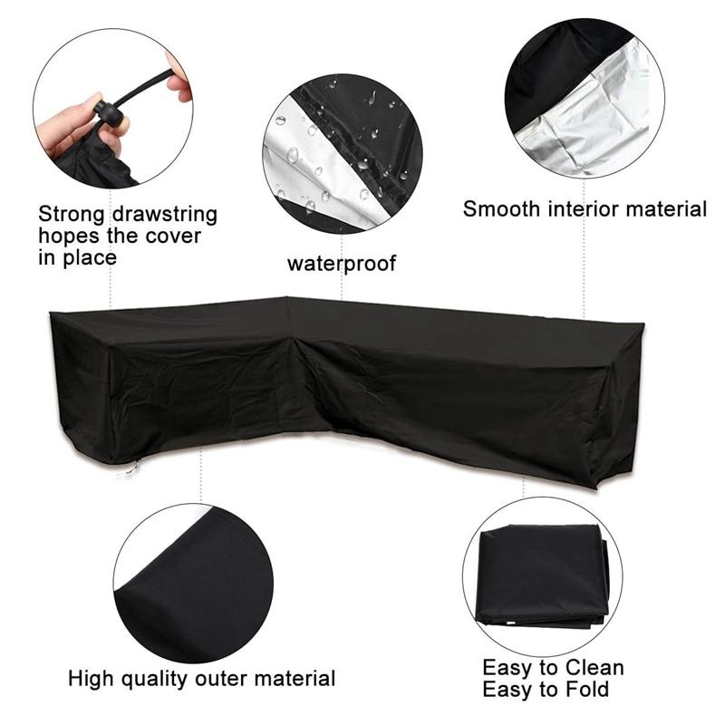 capa com impermeavel dustproof para mover ou protetor solar preto 02