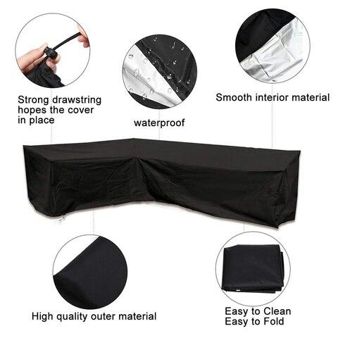 capa com impermeavel dustproof para mover ou protetor solar preto