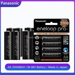 1.2В 2500 мАч Panasonic Eneloop Ni-MH AA Аккумуляторная батарея для фонарика камера игрушка дистанционное управление Заряженная Высокая емкость