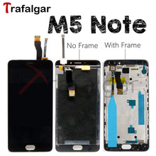 For Meizu M5 Note LCD Display Touch Screen Digitizer M621H M621Q M621M M621C For Meizu M5 Note Display With Frame Replacement