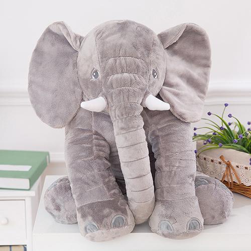 Baby Kids Elephant Animal Stuffed Plush Bed Sleep Pillow Cushion Toy Child Gift Cute Elephant Shape Gifts For Birthday Baby Toys