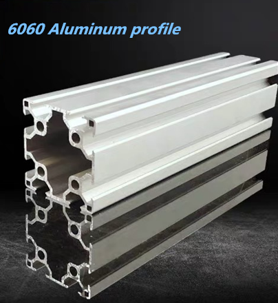 Double-groove Industrial Aluminum Alloy Profiles 6060 Assembly Line Frame Automatic Equipment Aluminum Extrusion Profile 6060