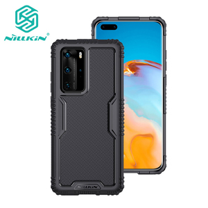For Huawei P40 Pro Case Nillkin Tactics TPU Protection Case 360°TPU all-inclusive Back Cover For Huawei P40 Pro