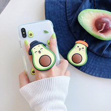 NEW Cartoon Round Universal Mobile Phone Ring Holder Airbag Gasbag Fold Stand Bracket Mount for IPhone XR Samsung Huawei Xiaomi dot print round gasbag phone holder