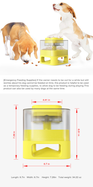 Interactive Pets Training Feeder For Puppies 6