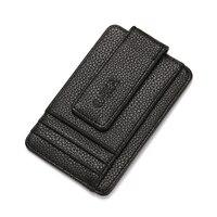 Men's Wallet Women Bank Credit Card Case PU Leather Soft Coin Bag Holder Car Stitch Flip Purse