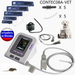 CONTEC08A-VET monitor de pressão arterial veterinário nibp com sonda spo2 ru armazém