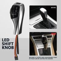 Led Gear Shift Knob Shifter Lever For Bmw E90 E60 E61 E46 2d 4d E39 E53 E92 E87 E93 E83 X3 E89 Automatic Accessories Gear Stick