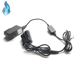Image 1 - ACK E2 mobile power USB ladegerät kabel + DR 400 BG E2 E2N BP 511 dummy batterie + USB Adapter für Canon EOS 20D 30D 40D 5D 50D D30 D60