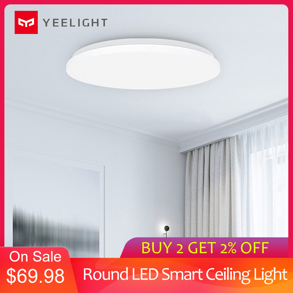 Yeelight YILAI YlXD05Yl 480 Simple Round LED Smart Ceiling Light For Home Star Version 32W 220V 2200lm Indoor Lighting