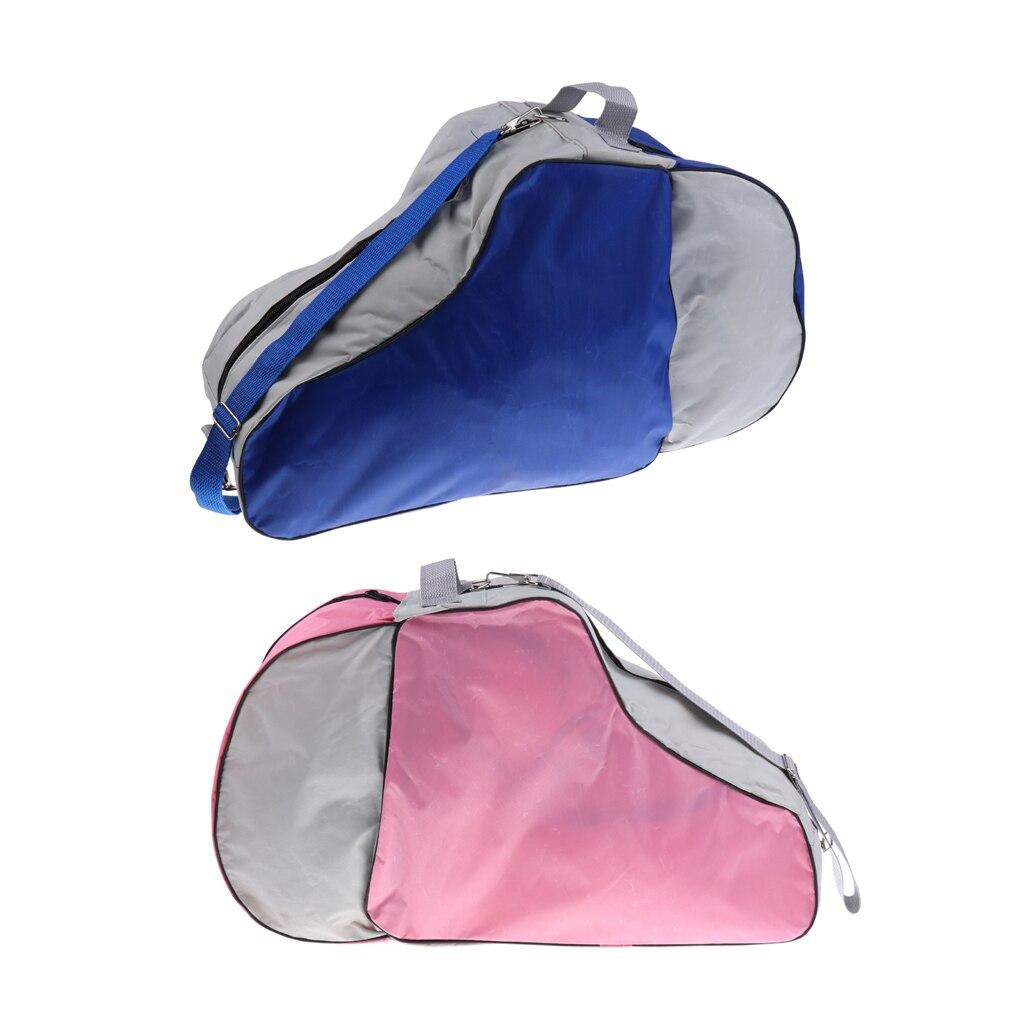 2 шт. прочная сумка для переноски роликовых коньков сверхпрочная водонепроницаемая сумка для коньков с регулируемым плечевым ремнем