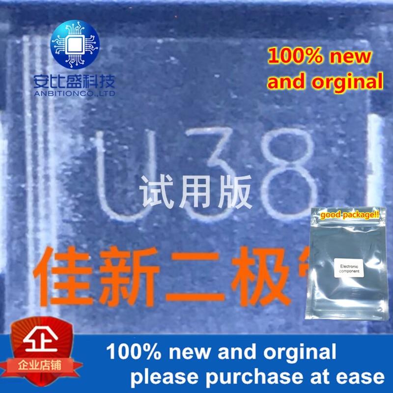 20pcs 100% New And Orginal 3A800V DO-214AB SMC SILK-SCREEN U38  In Stock