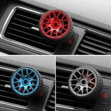 Paint process Car wheel Turbo Car wheel model Air outlet perfume Air outlet decoration Car