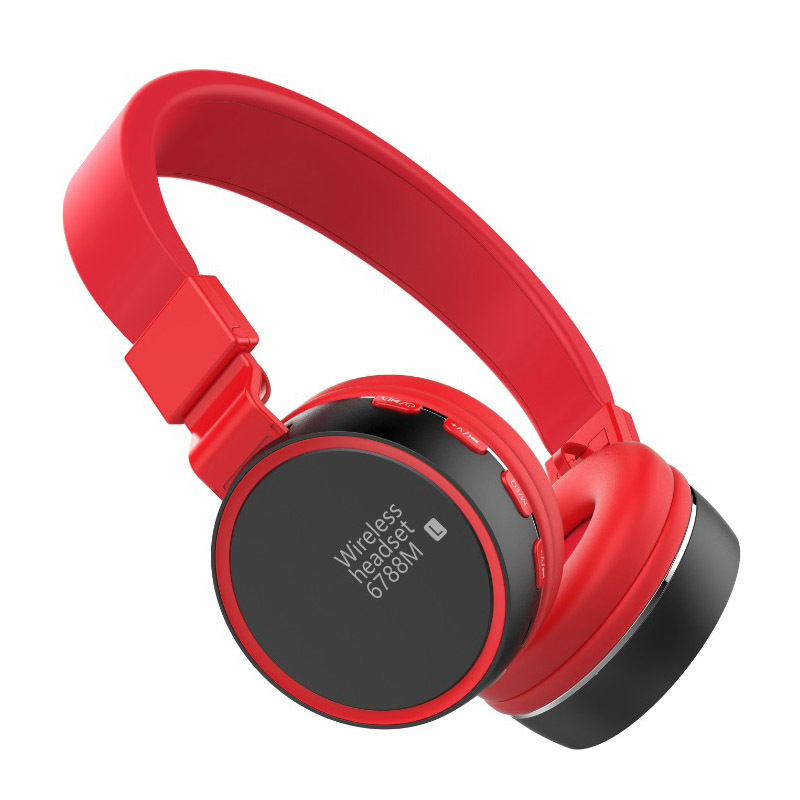 New Style Y23 Bluetooth Headset Stereo Headphones Folding Card Instert Incense Inserted Radio Mobile Phone Call