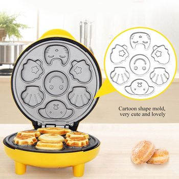 Mini Electric Cake Maker Non-stick Bubble Egg Cake Oven Breakfast Waffle Bread Machine Egg Cake Oven Pan Eggette Machine bread machine the bread maker uses fully automatic and multifunctional intelligence sprinkled with fruit cake