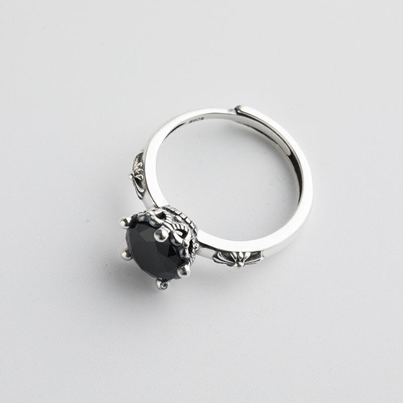 925 Sterling Silver Open Rings for Women 5