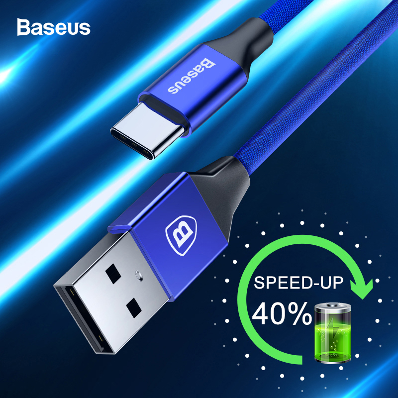 Baseus USB Type C Cable 3A Fast Charging Charger Type c USB C Cable For Samsung S10 S9 Xiaomi mi 9 8 Oneplus 6t 6 5t USB C Wire|Mobile Phone Cables| |  - AliExpress