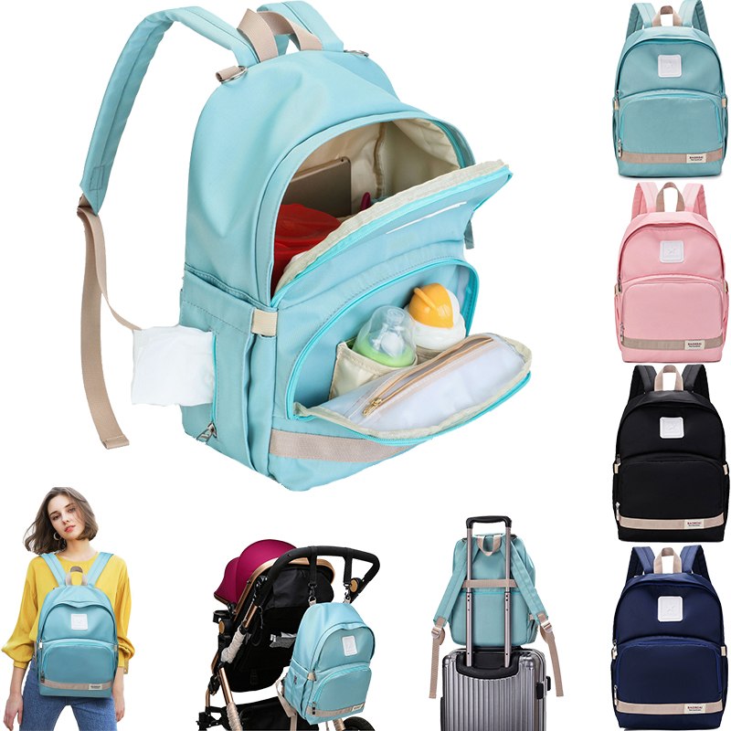 Baby Diaper Bags Large Nappy Bag Upgrade Baby Bag Fashion Waterproof Mummy Bags Maternity Travel Backpack Nursing Mom Handbag