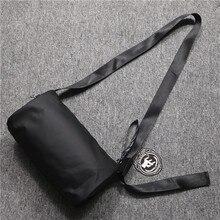 Designer Fashion Men Shoulder Bag Canvas Korean Casual Sport Shoulder Bag Zipper Minimalist Bolso Hombre Crossbody Bag DE50NDJ