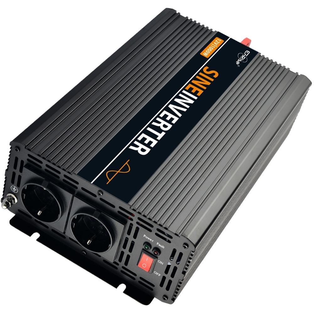solar inverter 1000W 1200W 2500W pure sine wave power inverter DC 12V to AC 220V 230V