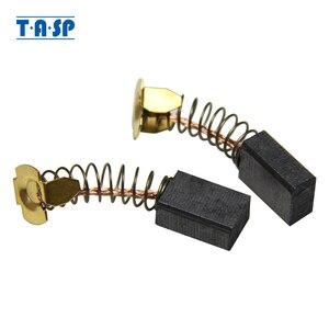 TASP 5 пар 6x10x17 мм угольные щетки для Makita CB 100 CB100 CB103