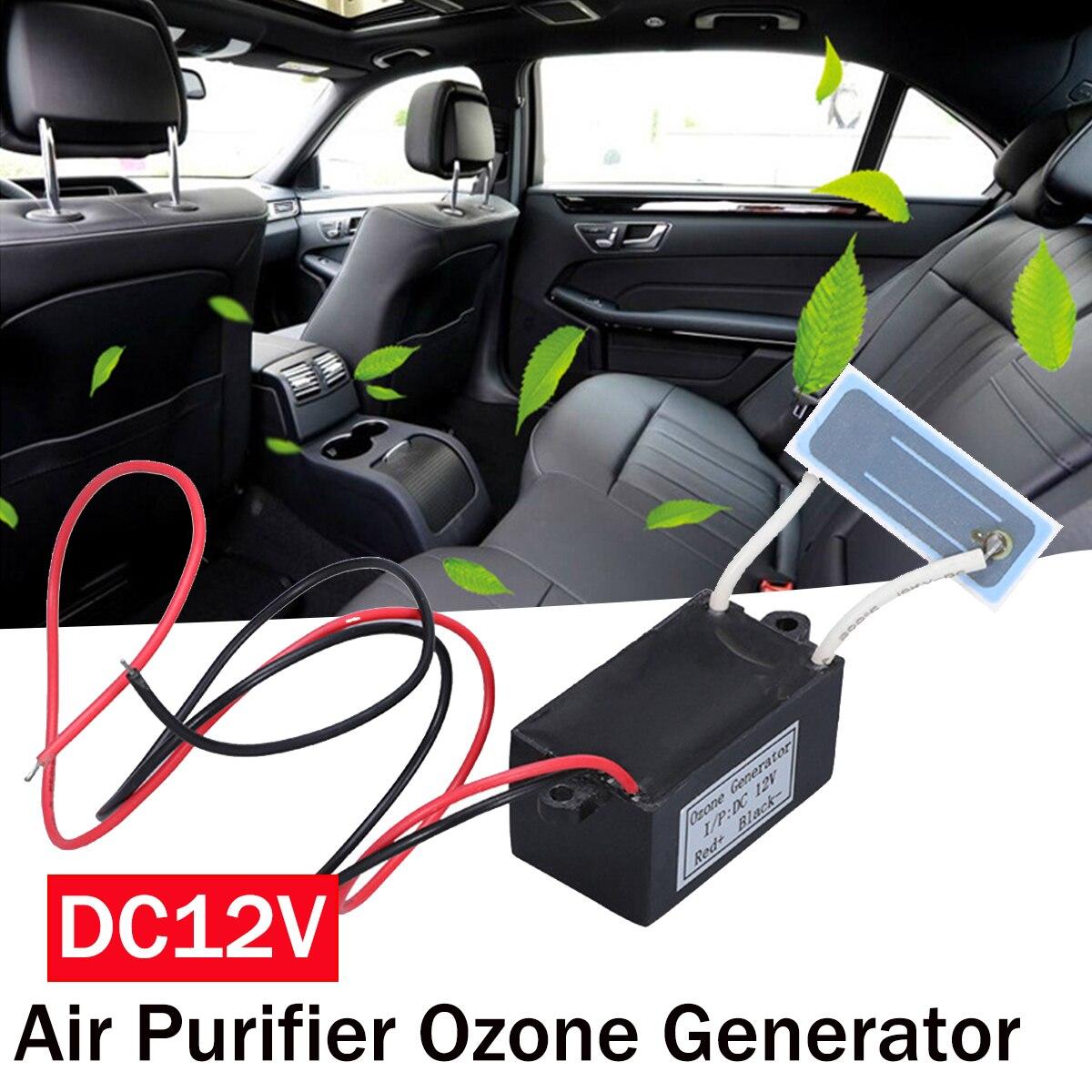 Generator ozonu Mini oczyszczacz powietrza DC 12V filtr powietrza Mini przenośny Ozonizador Ozonator Ozonator Generator ozonizator Esterilizador|Oczyszczacze powietrza|   - AliExpress