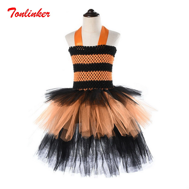 Baby Girl Princess Two-Tone Tutu Tulle Skirts Halloween Cosplay Carnival Costume Outfits Skirt