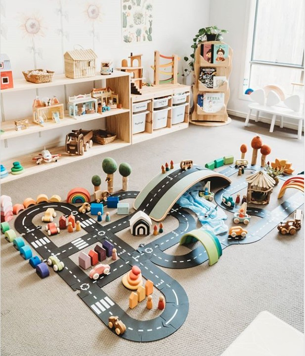 INS Plastic Creative Train Track Traffic Railway Road Journal  DIY Scrapbooking Roll Road  Label For Kids Toy Car Play