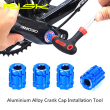 RISK Bicycle Crank Cap Installation and Disassembly Tool Aluminium Alloy Crank Arm Adjustment Cover XT/UT/DA Integrated BB