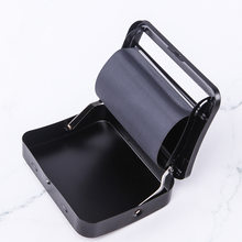 Metal Rolling Machine Tobacco Roller Cigarette Maker black Blunt Cigar Rolling Cigarette device case box 70mm78mm