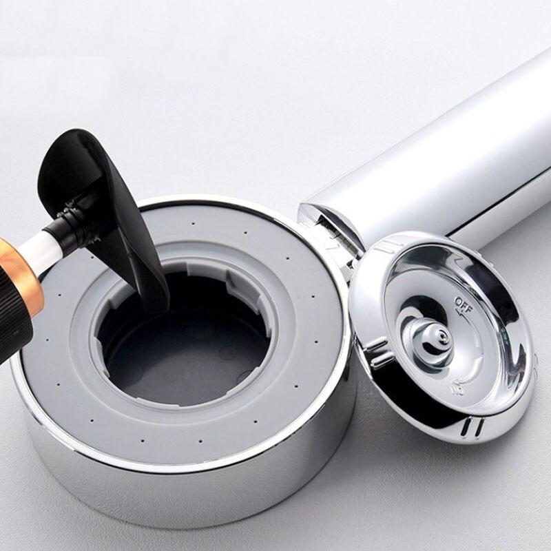 Двухсторонняя душевая головка шампунь-гель для душа спрей высокого давления душевая головка для ванной ручной держатель распылитель высокого качества для спа ванна