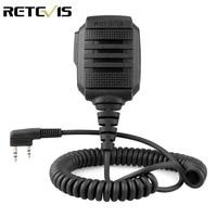 עבור baofeng RS-114 Retevis IP54 מיקרופון רמקול Waterproof עבור Kenwood Retevis H777 RT22 RT24 RT81 Baofeng UV-5R UV-82 888S מכשיר הקשר (1)