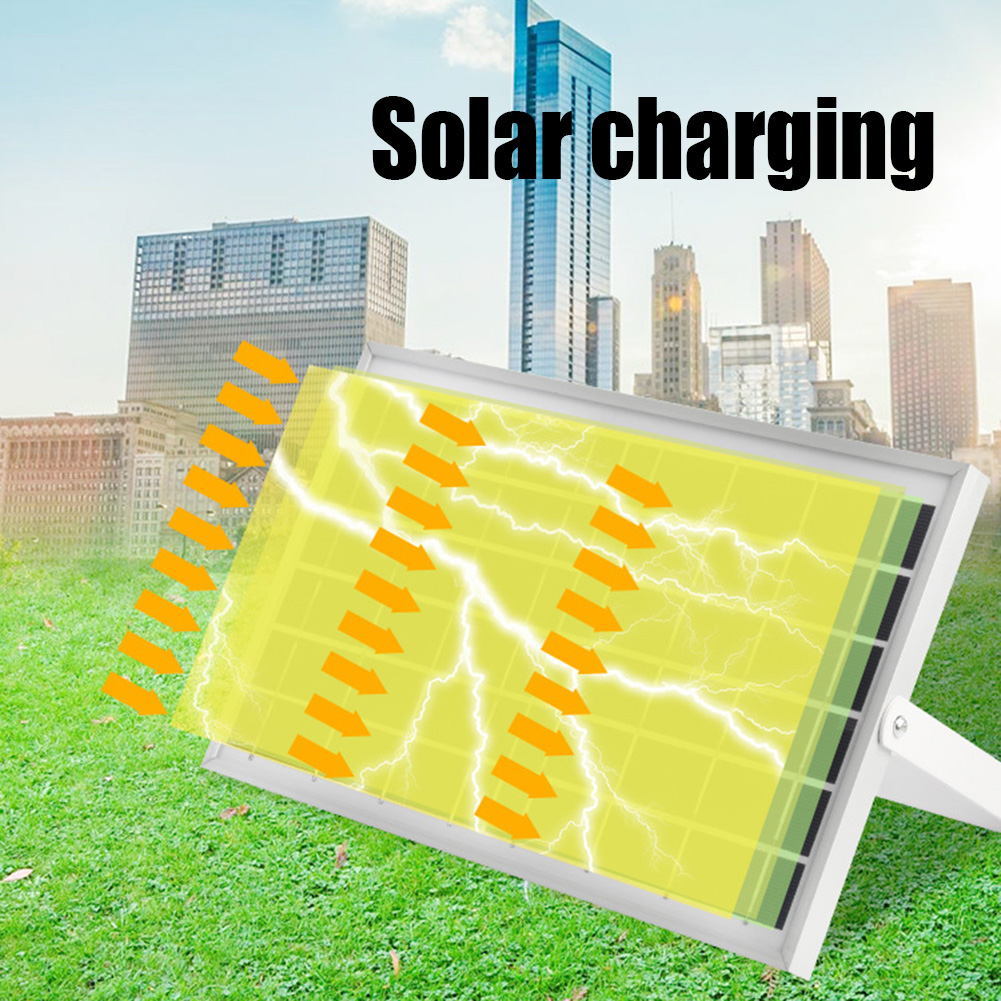 50 w energia solar alimentado lâmpadas de