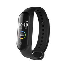 M4 Smart Band Olahraga Gelang Kebugaran Tracker Watch Heart Rate Tekanan Darah Smartband Monitor Kesehatan Gelang PK Mi Band 4(China)