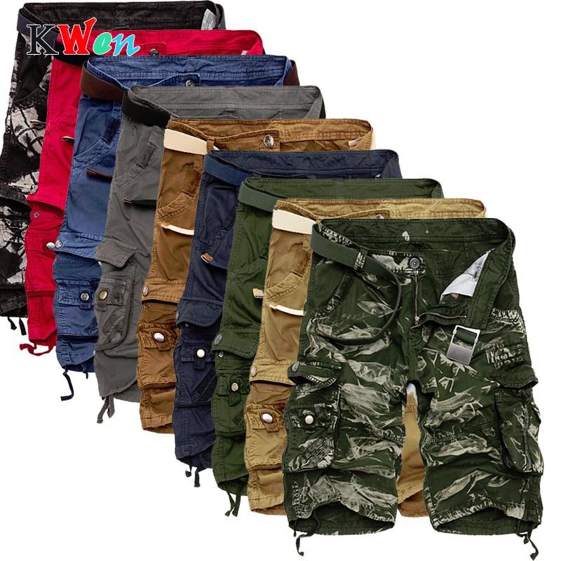 Board Shorts Men Cool Camouflage Summer Hot Sale Cotton Casual Men Short Pants Brand Clothing Comfortable Camo Men Cargo Shorts