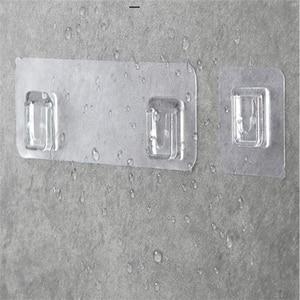 1/2/4pcs Home Plastic Hooks Wa