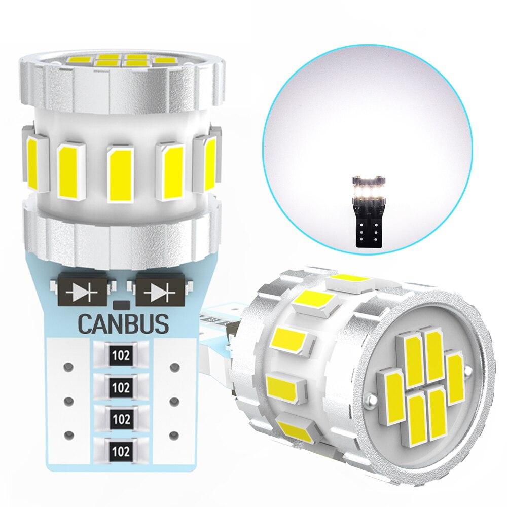 2 шт. T10 W5W 194 168 Светодиодный лампочки Canbus салона светильник для Hyundai Solaris, Creta ix35 Santa Fe Tucson Elantra i30 Getz Accent